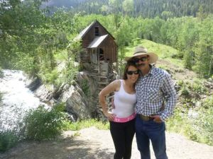 At the Crystal Mill