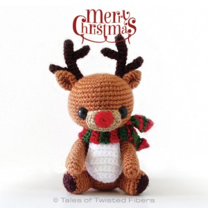 How Adorable is this Reindeer Amigurumi?!?!?!