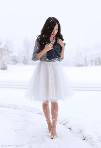 Love this tulle skirt!!
