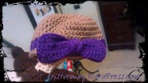 Baby Bow Hat #2
