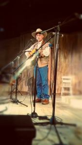 Dave Stamey singing on Thursday Night